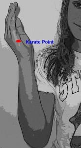 Karate Chop Point